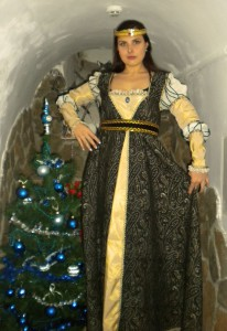 Елочка в таинственном замке