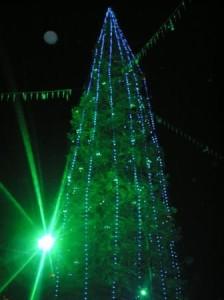 Новогодняя елка города Магнитогорск